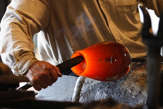 10:25AM – Free glass blowing demonstration in Murano